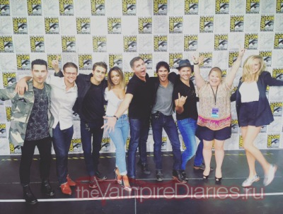 The Vampire Diaries Comic-Con 2016 - Panel [23 ����]