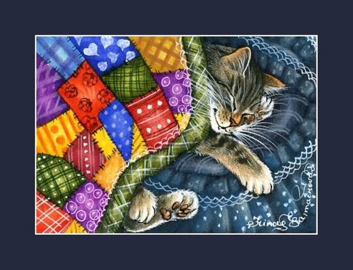 Sweet Dreams kitty!