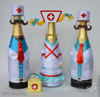 Бутылка врачу в подарок