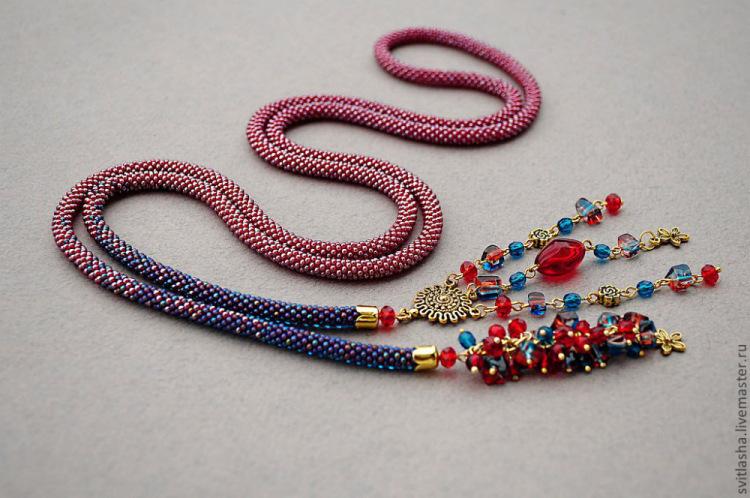 Схемы жгутов из бисера: легкий мастер-класс плетения турецкого браслета