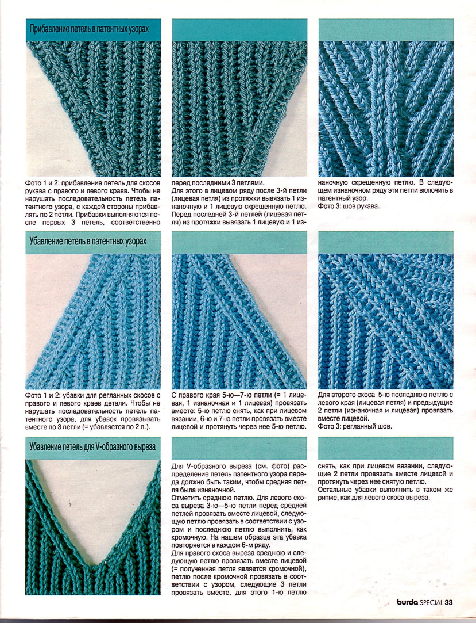 как вязать вязкой резинка